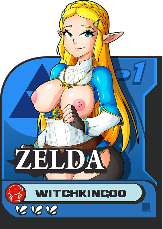 breath the of wild doujin Yoda cock and ball torture