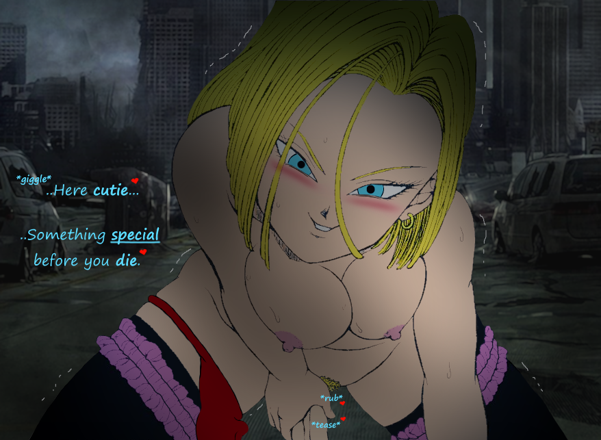 android 18 of destruction rampage Boyfriend of the dead