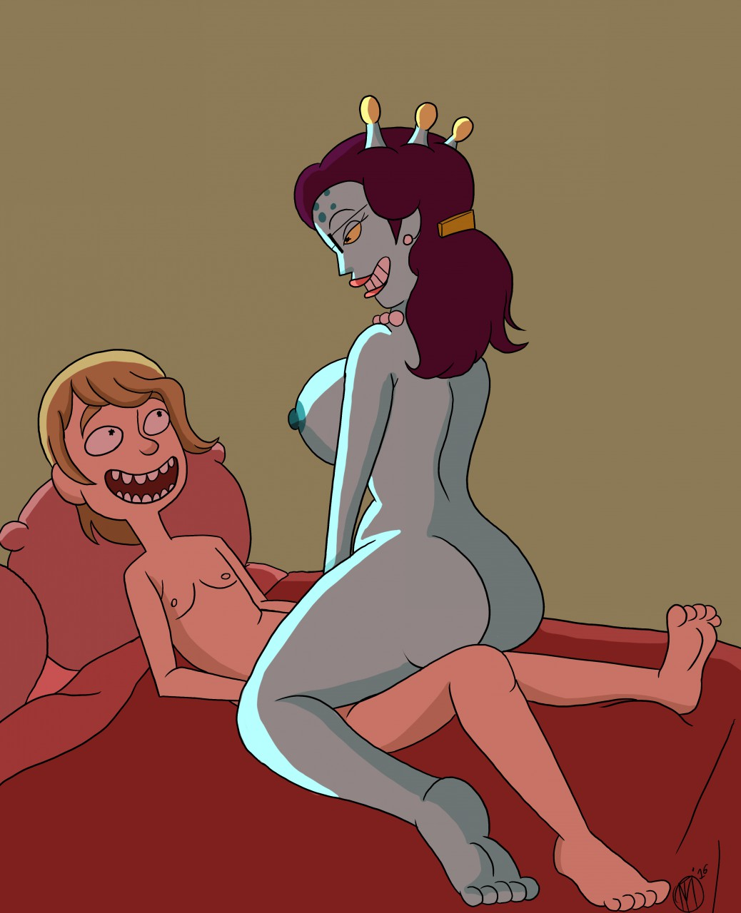 and of index rick season morty 4 Pregnant my little pony giving birth
