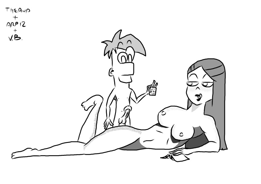 phineas naked ferb and stacy Nyarko-san: another crawling chaos f