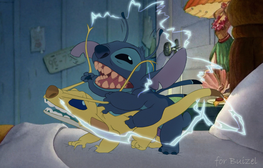 fat alien and stitch lilo Beauty and the beast hentai gif