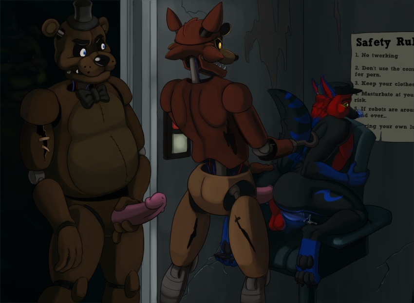 at five furry freddy's nights Nobody in particular futa on male