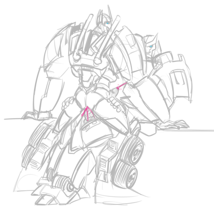 and jack transformers kiss arcee prime Mecha sonic in sonic 1